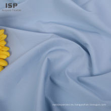 Stock lot tela de algodón de nylon tejido sólido al por mayor