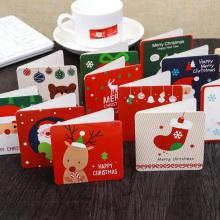 Impressão personalizada de cartões comemorativos feitos à mão com envelopes