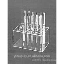 Rechteckiger Acrylstift-Ausstellungsstand-Halter