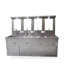 Stainless steel sink bathroom wash basin for pet and surgery clinic