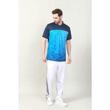 MÄNNER DIGITAL PRINT GOLF POLO SHIRT
