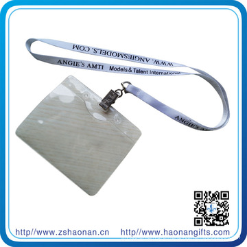 Polyester Silk Screen Print Single Side with Metal Clip