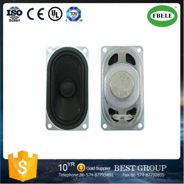 8ohm Stereo Cara Mini Rectangular Loudspeaker