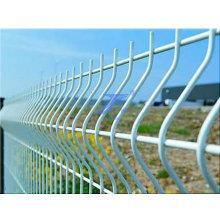 Clôture de treillis métallique soudée par courbe Diamètre de fil de 3 mm à 8 mm