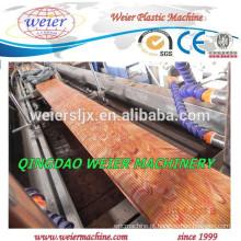 Exportado para Europa mercado PE WPC decking painel extrusão máquina com CE