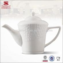 Wholesale fine royal porcelain turkish tea kettle, chinese tea gift