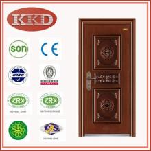 UV-Proof Swing Steel Door KKD-504 for Apartment Entry