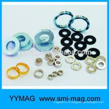 Китайский производитель золотого неодимового кольца магнит
