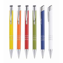 Novo estilo fábrica baixo preço clique caneta de plástico para a promoção