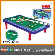 Plastic Indoor Sport Mini Children Billiards Table