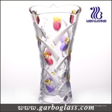 Tulip Glass Vase (GB1514YJX-PDS2)