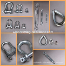 HOT SALE BOLT TYPE ANCHOR SHACKLES