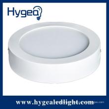6W 12w 18w round surface mounted led panel light