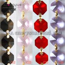 DL03 Lustre perlé chaîne