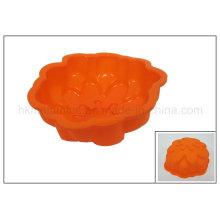Moule en forme de fleur de gâteau en caoutchouc de silicone (RS21)