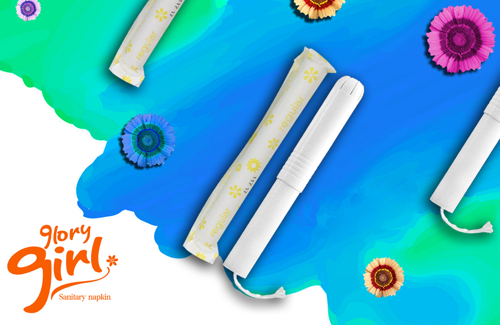 Eco friendly wholesale organic tampons with cardboard applicator