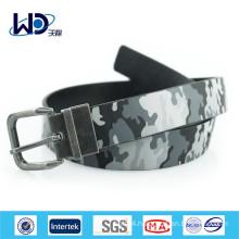 2015 Hot sale printed man PU belts