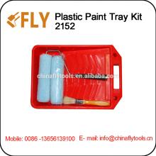 plastic Paint Tray Kit paint Roller Brush