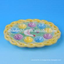 2016 Элегантная куриная пасхальная куриная пластинка яйца