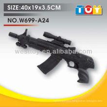 Non-toxic soft TPR foam machine gun toy for kids