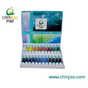 24 colors professional water paint set