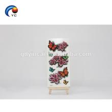 Etiqueta engomada temporal realista modificada para requisitos particulares del tatuaje de la flor de mariposa 3D