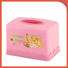 Creative Three Colors Available Printed Plastic Tissue Box (FF-5087-4)