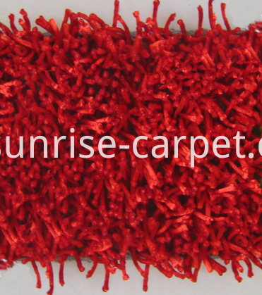 Polyester Viscose Shaggy Carpet