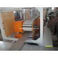 Machine d'extrusion de profil alibaba PE WPC pour pavilion, poubelle, clôture, panneau de plancher