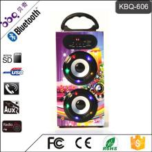 Bunter Mini Voptop Lautsprecher Portable Srereo Auto Subwoofer MP3-Player-Lautsprecher