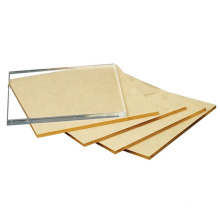 Colored anti-uv coated solid polycarbonate sheet for sunroom
