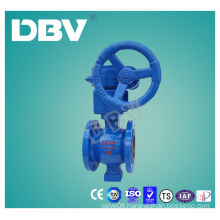 Worm Gear Box Wcb Body V Type Ball Valve