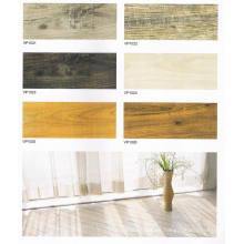Azulejo de PVC de madera con cerradura