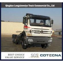 Caminhão norte do trator do Benz da fonte profissional 420HP 6X4 do caminhão de Beiben para o mercado africano