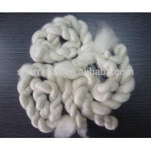 100% reine enthäutete chinesische weiße Ziegenkaschmir-Oberteile