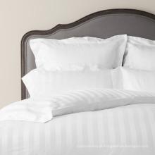 Roupa de cama direto da listra de Dobby da venda da fábrica para o hotel e a casa