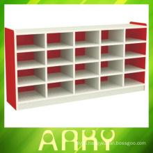 Kindergarten Wooden Furniture Children Shoe Storage Cabinets