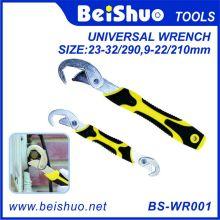 2 PCS Snap N Grip ajustável Universal Spanner / Wrench Set