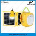 Lanterne rechargeable d'énergie solaire de la solution 4500mAh / 6V de puissance avec le chargeur de téléphone portable