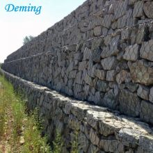 Factory Supply PVC beschichtet Gabion Mesh Matratze Reno