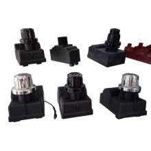 Allumeur électrique à bouton-poussoir pour piles AA à 4 prises