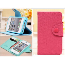 Fashion iPhone Leather Case Cover (SR4689)