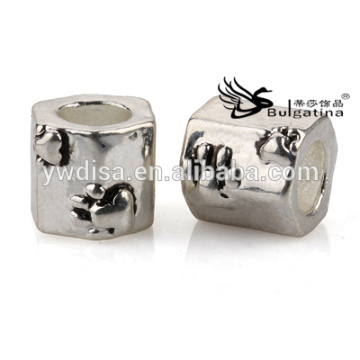 Charms Perlen für Schmuck, Schmuck Zubehör Zink-Legierung Nickel & Bleifreie 2014 Neue Design Perlen