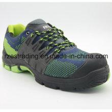 Sapatos de segurança luz de borracha Outsole Material esporte estilo