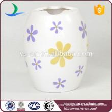 YSb40078-01-t 2015 for home decor ceramic bathroom accessories tumbler