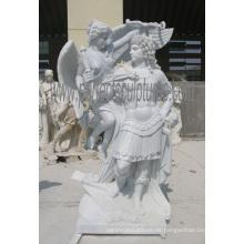 Escultura de mármol tallado tallado en piedra de la piedra de la estatua del jardín con la piedra arenisca del granito (SY-X1551)
