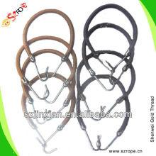 Эластичный шнур с крючком для волос кольцевания