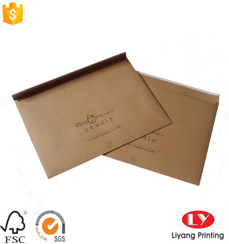 brown kraft paper envelope