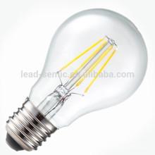 E14, E27 alto brilho levou bulbo de filamento