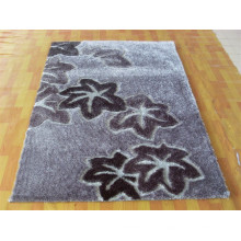 Popular Home Decor Shaggy Silk Polyester Carpet